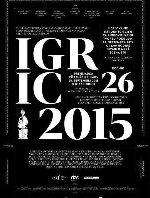 Hlavná cena Igric v kategórii filmová a televízna dokumentárna tvorba